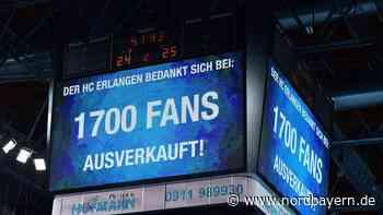 """Arena """"ausverkauft"""": HCE unterliegt Lemgo, feiert aber ein Handballfest - Nordbayern.de"""