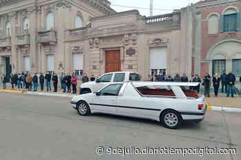 Fueron despedidos con dolor los restos de Fabián Prado | Diario Tiempo - Diario Tiempo Digital