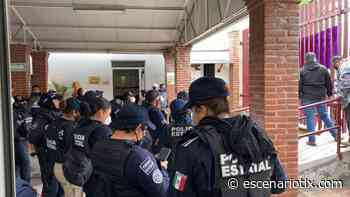 Cerca de 100 policías desplegó Cid del Prado; se aferra a la CEDH - Escenario Tlaxcala