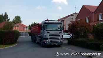 À Anzin-Saint-Aubin, le va-et-vient de poids lourds dans le quartier de l'Argilière gêne les riverains - L'Avenir de l'Artois