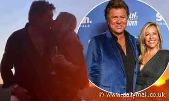 Richard Wilkins' girlfriend shares a sweet 67th birthday tribute to him
