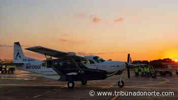Companhia aérea de Arapongas inicia rota comercial - Tribuna do Norte