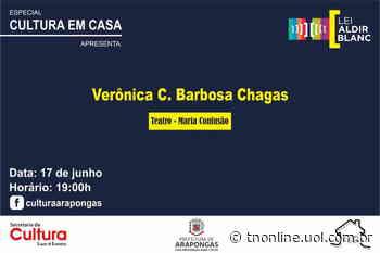 Arapongas apresenta Teatro no Cultura em Casa especial - TNOnline - TNOnline