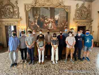 Ricevuti a palazzo Trissino i campioni della matematica di Vicenza e Bassano - La PiazzaWeb - La Piazza