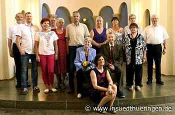 Stadt Sonneberg - Gnadenpaar feierte 70-jährige Ehe - inSüdthüringen