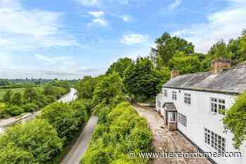 For sale: Idyllic Herefordshire cottage with river Wye views