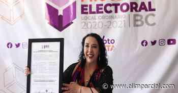 Otorgan constancia de mayoría a Araceli Brown por Rosarito - ELIMPARCIAL.COM