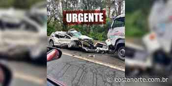 Acidente gravíssimo na Mogi-Bertioga deixa carro totalmente destruído - Jornal Costa Norte