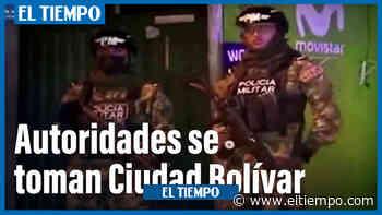 Ejercito y Secretaría de Seguridad se toman a Ciudad Bolívar - El Tiempo