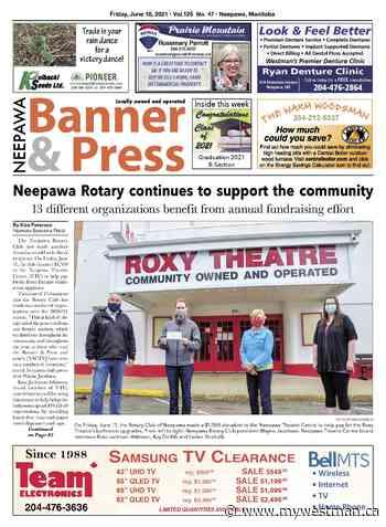 Friday, June 18, 2021 Neepawa Banner & Press - myWestman.ca