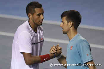 """""""This Photo Is Real"""": Nick Kyrgios Takes Credit for Novak Djokovic's French Open 2021 Victory - EssentiallySports"""