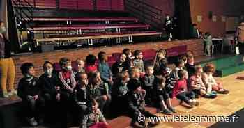 Marionnettes et cinéma pour les écoliers de La Fontaine, à Plouray - Le Télégramme