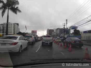 Lluvias intensifican el taponamiento en el Gran Santo Domingo - Listín Diario
