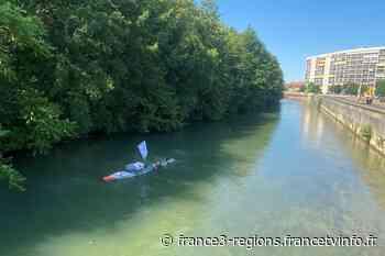 ENTRETIEN. Troyes : Arthur Germain, ce nageur qui remonte la Seine de la source à l'océan - France 3 Régions