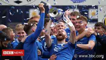 St Johnstone to be awarded Freedom of Perth after cup double win - BBC News