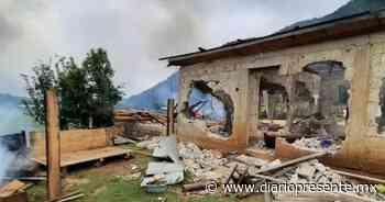 Católicos indígenas queman casas de evangélicos en San Cristóbal - Diario Presente