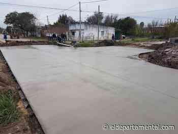 San Cristóbal: Se finalizó las bocacalles de Laprida - El Departamental