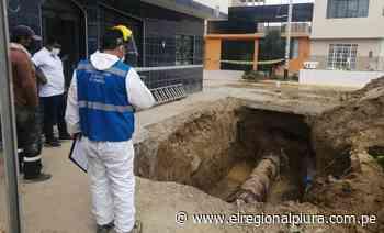 Talara: SUNASS verifica restablecimiento del servicio de agua potable - El Regional