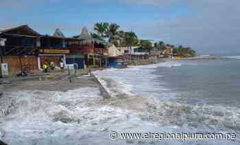 Talara: fuerte oleaje impide apertura de playas de Máncora - El Regional