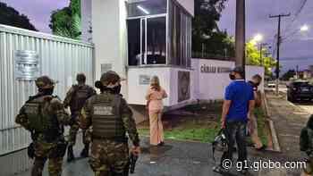 Dois vereadores e ex-parlamentar são presos em Parnamirim por suspeita de crimes eleitorais - G1