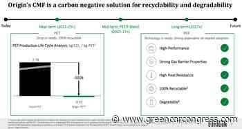 Origin Materials launches Net Zero Automotive Program with Ford; carbon-negative PET - Green Car Congress