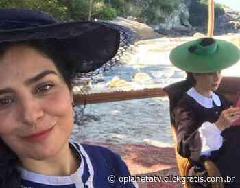 Leticia Sabatella e Mariana Ximenes gravam em praia do Rio de Janeiro - O Planeta TV