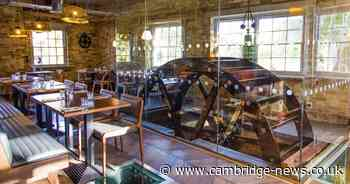 Cambridge restaurants with outdoor seating: Dreamy riverside restaurant complete with working water wheel - Cambridgeshire Live