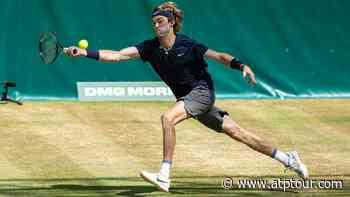 Andrey Rublev Beats Philipp Kohlschreiber To Reach Halle Semi-finals - ATP Tour