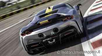 SF90 Stradale Assetto Fiorano, alla scoperta del V8 turbo ibrido. È la Ferrari stradale più potente mai costruita - Il Messaggero - Motori