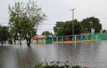 Bajo el agua calles de Chetumal por intensas lluvias - Quadratin Quintana Roo - Quadratín Michoacán