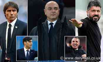 Tottenham can have no one to blame but themselves for NIGHTMARE managerial search