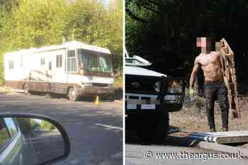 Motorhome parked in Hangleton A27 link road is finally moved