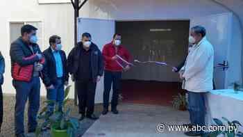 Inauguran pabellón de contingencia respiratorio en el Hospital de Yuty - Nacionales - ABC Color