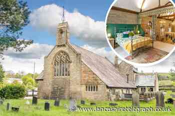 Inside the £550K Rising Bridge church that's been converted into a family home