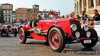 La 1000 Miglia a Verona: in piazza Bra arriva la corsa più bella del mondo - VeronaSera