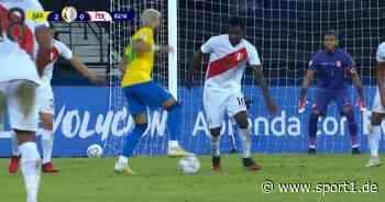 Neymar mit Arroganz-Solo! Brasilien - Peru (4:0): Tore und Highlights - SPORT1