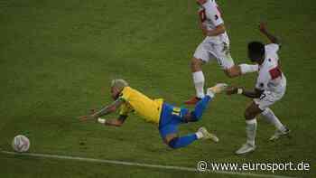 Copa Amércia: Neymar kassiert Frust-Foul nach Showeinlage gegen Peru - Eurosport DE