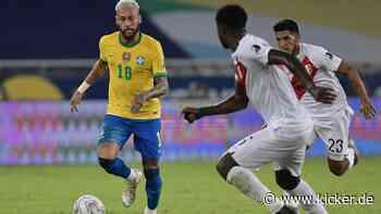 Im Video: Neymar trifft bei Brasiliens Kantersieg gegen Peru - kicker
