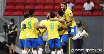 Copa América: Neymar schlägt mit Brasilien Venezuela - Sorge bei Messi - SPORT1