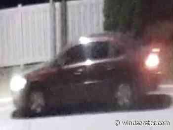 Camera recorded vehicle leaving scene of arson in Lakeshore - Windsor Star