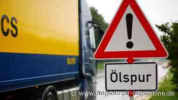 Einsatz in Senden: Feuerwehr beseitigt Ölspur in der Römerstraße - Augsburger Allgemeine