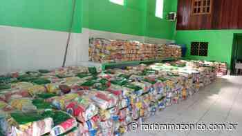 Em Parintins, 2.300 cestas básicas estariam guardadas há meses para serem distribuídas pelo governador em Live dos Bumbás - radar amazonico