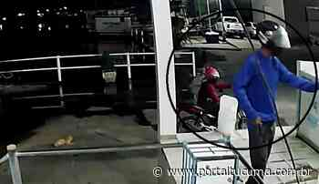 Vídeo: fábrica de gelo em Parintins é assaltada por 'dupla dinâmica' - Portal Tucumã