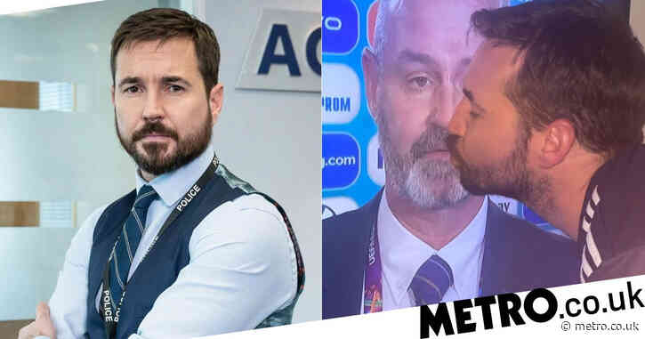 Brighten up your day and watch Line of Duty's Martin Compston celebrating Scotland's draw against England