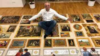 Bastler aus Hallerndorf stellt Weltrekord im Puzzeln auf - BR24