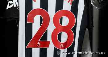 Squad numbers available to Newcastle United's new signings