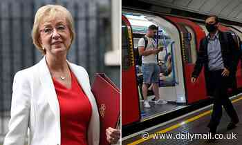 Andrea Leadsom warns people on furlough are avoiding going back to work because it has been 'great'