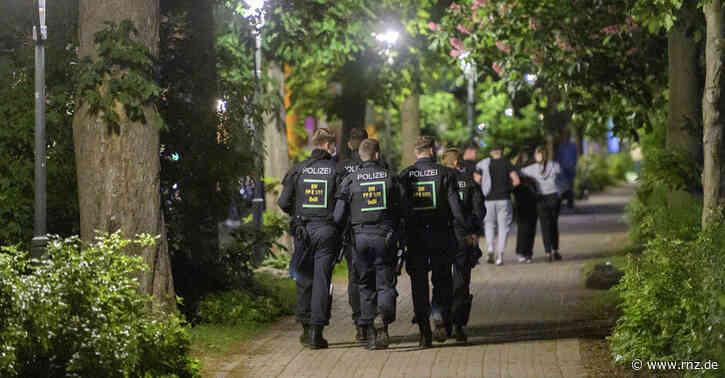 Heidelberg-Neuenheim:  Polizei räumte Neckarwiese vorsorglich