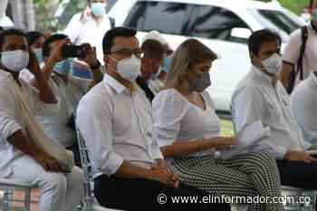 Caicedo y Virna anuncian solución definitiva al desabastecimiento del agua en Santa Marta - El Informador - Santa Marta