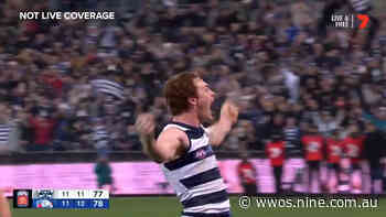AFL: Gary Rohan goal video, Geelong vs Western Bulldogs - Wide World of Sports
